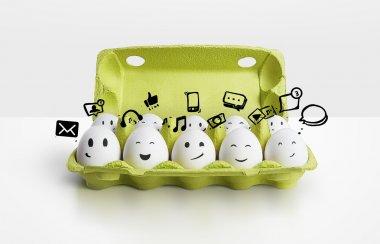 Group eggs