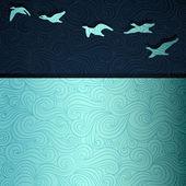 Fotografie fliegende Gänse