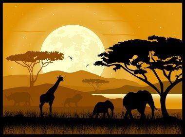 Africa stock vector