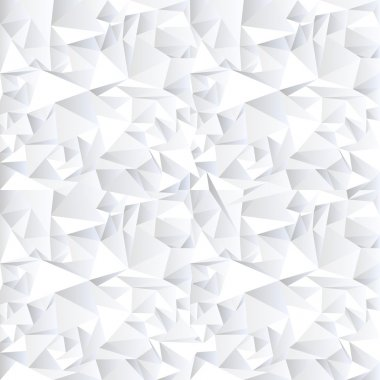 White crystal abstract background