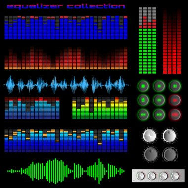 Equalizers and software buttons