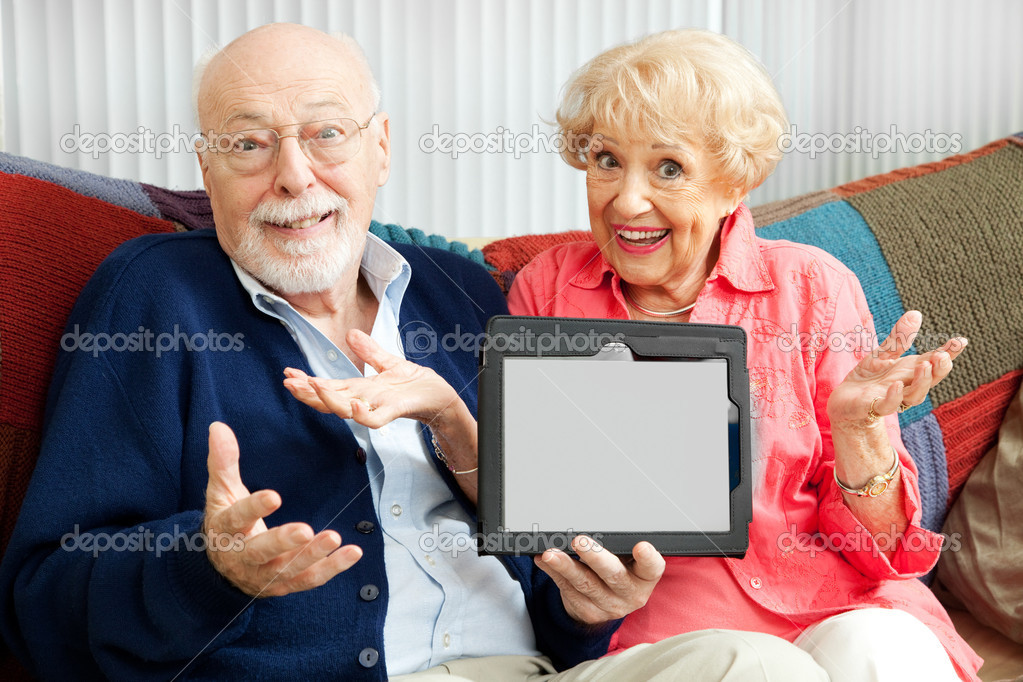 Image result for stock photos people not used to technology confusion