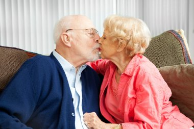 Seniors Snuggle