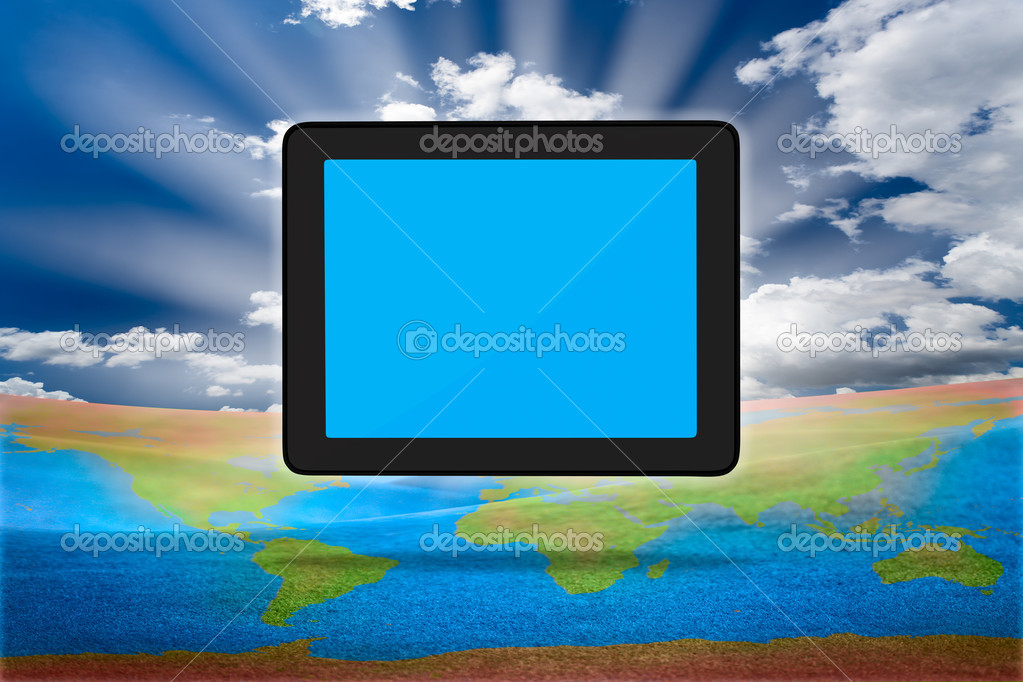 Modern tablet PC (Touch Pad)