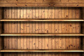 Fotografie Bücherregal aus Holz