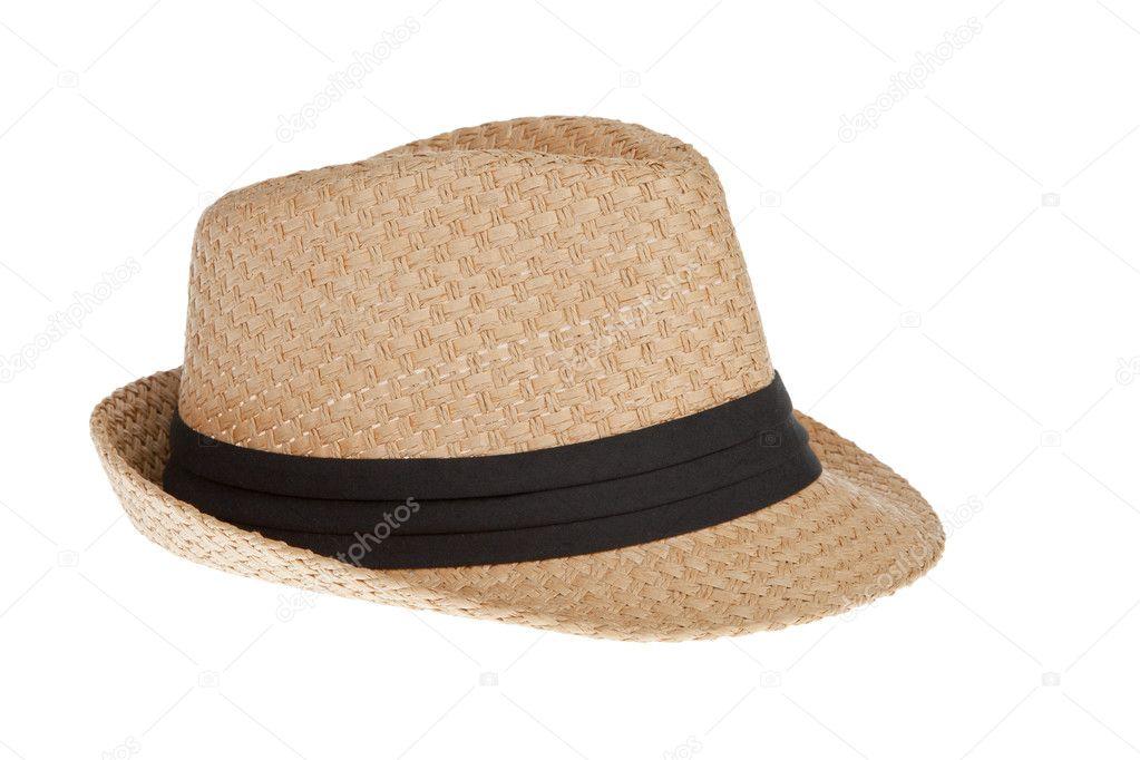 4805f7c88de9b Chapéu Panamá palha de verão — Stock Photo © FrameAngel  12035661