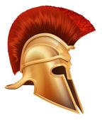 starověký řecký bojovník helma