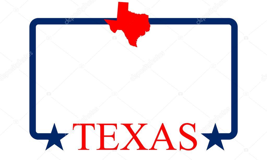 Texas frame — Stock Vector © graphicnado #10966306
