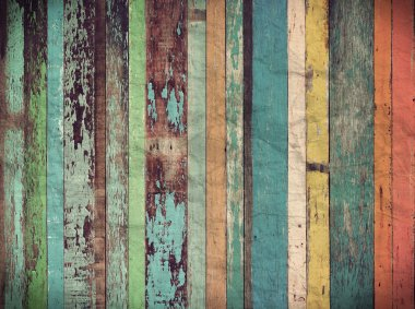 Wood material background for Vintage wallpaper stock vector