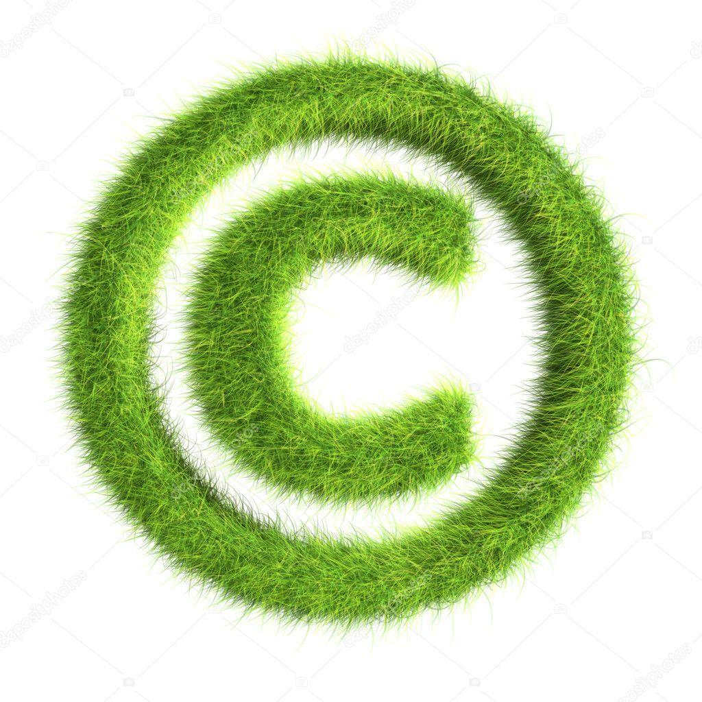Grass copyright symbol