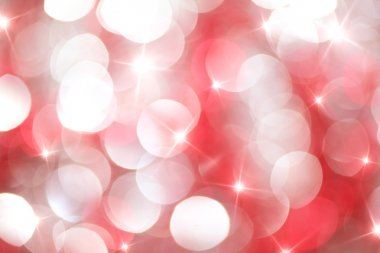 Red and white lights
