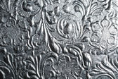 Photo Metal with floral pattern