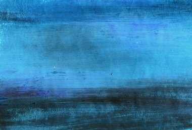 Painted blue background or texture