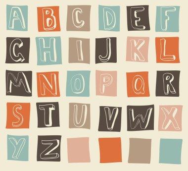 Funky latin alphabets