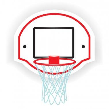 Single basketball ring