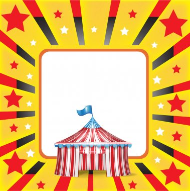 Circus tent and background