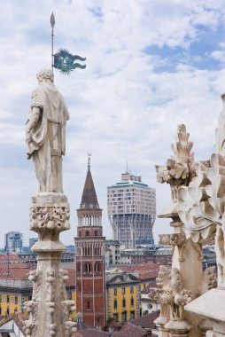 View of Milan from the Cathedral