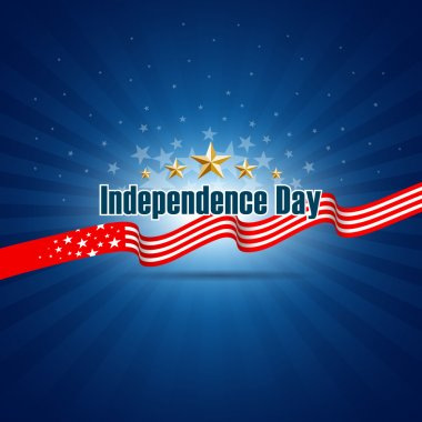 Independence day template background