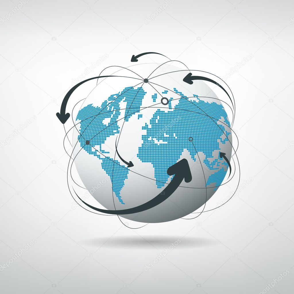 Modern globe connections network design