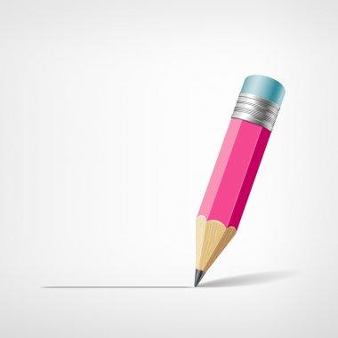 Pink pencil design