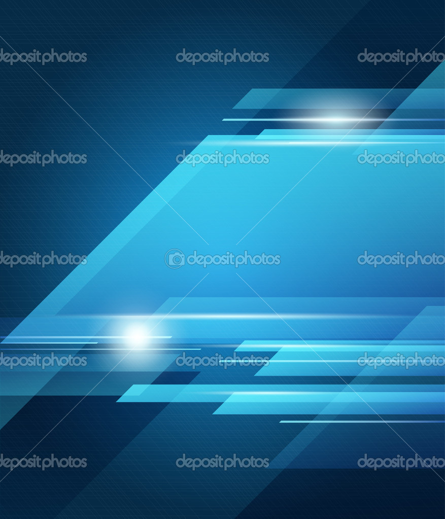 Abstract vector blue transparency background