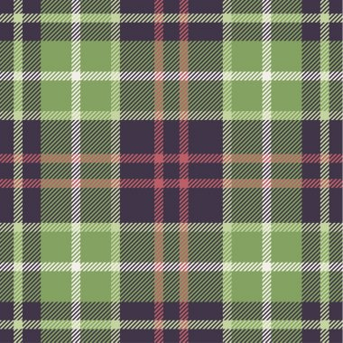 Plaid pattern in nature tones