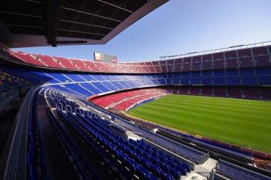Fc Barcelona (Nou Camp) Futbol Stadyumu geniş görüş