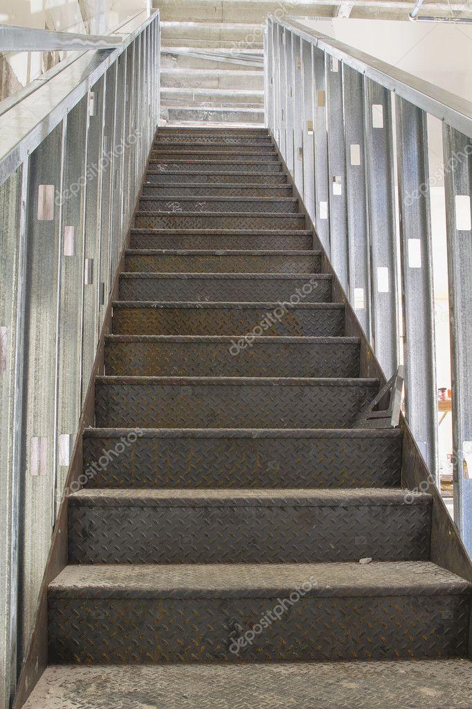 construcción comercial escalera — Fotos de Stock © jpldesigns #11750219