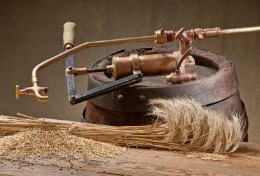 Still life with barley