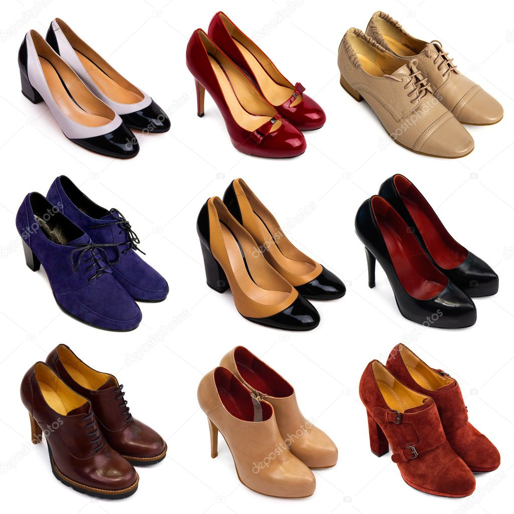 6683e298d90 πολύχρωμα Γυναικεία παπούτσια-7 — Φωτογραφία Αρχείου © MaleWitch ...
