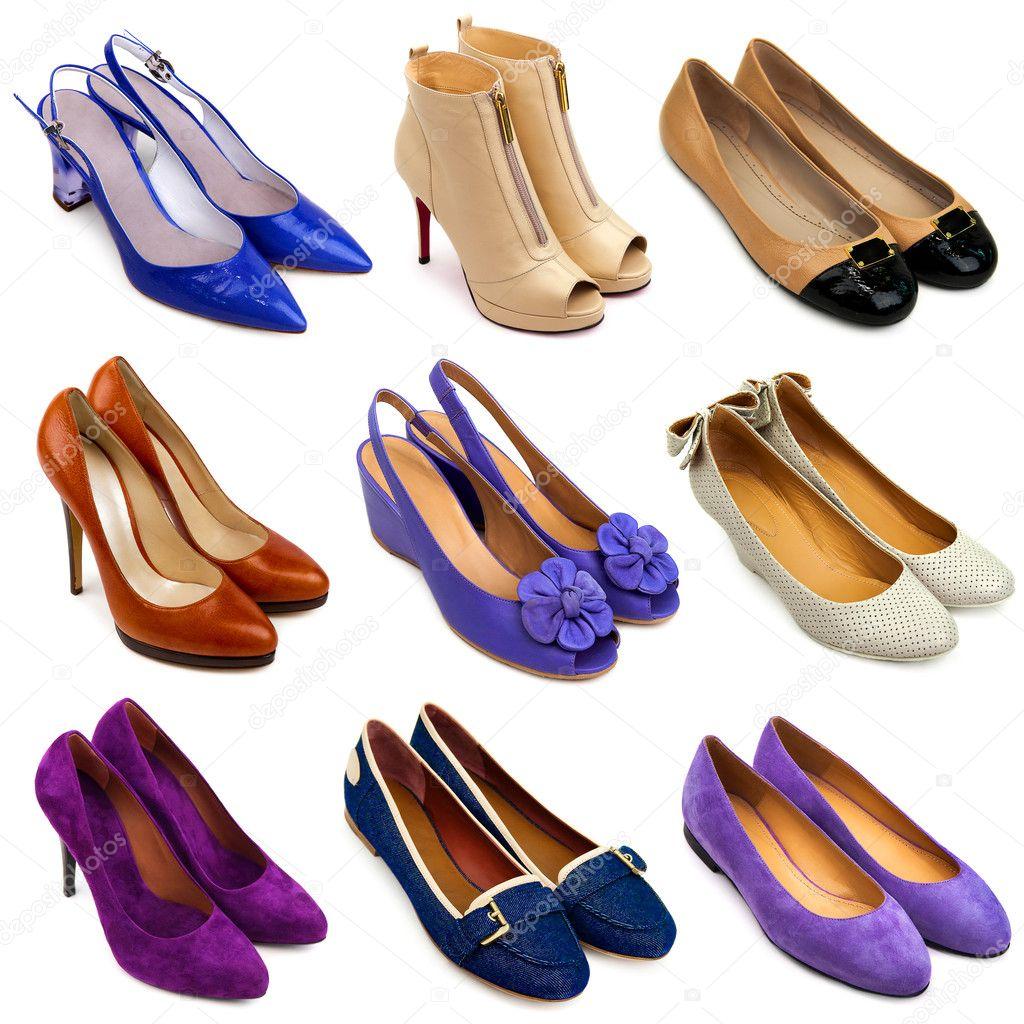 0ccfed9f68a πολύχρωμα Γυναικεία παπούτσια-16 — Φωτογραφία Αρχείου © MaleWitch ...