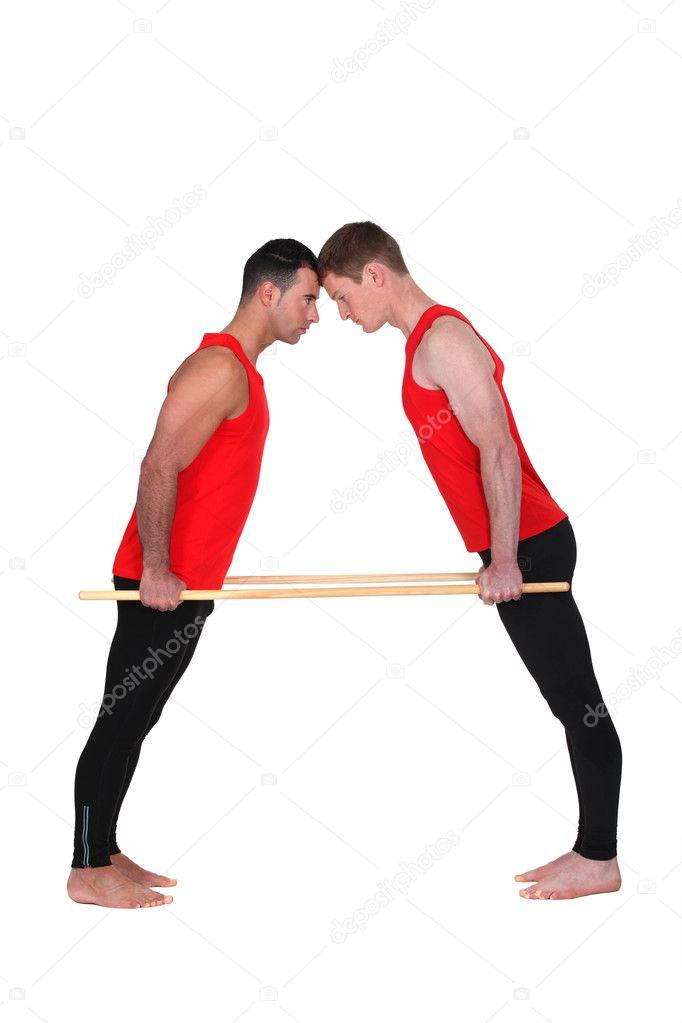 Sven and tristan raw big dicks