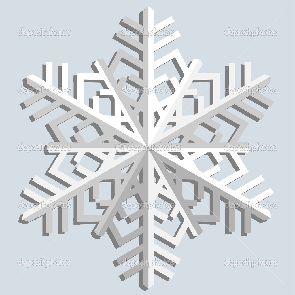 Snowflakes. Vector illustration.
