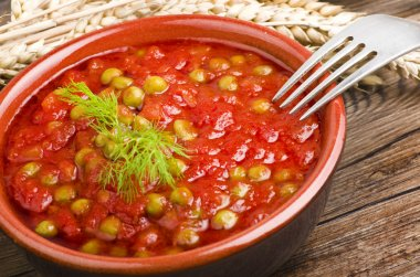 Sauce of tomatoes