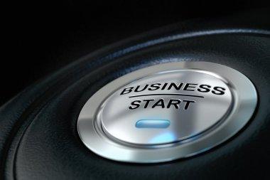 Business start button