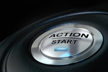 Action start, motivation concept