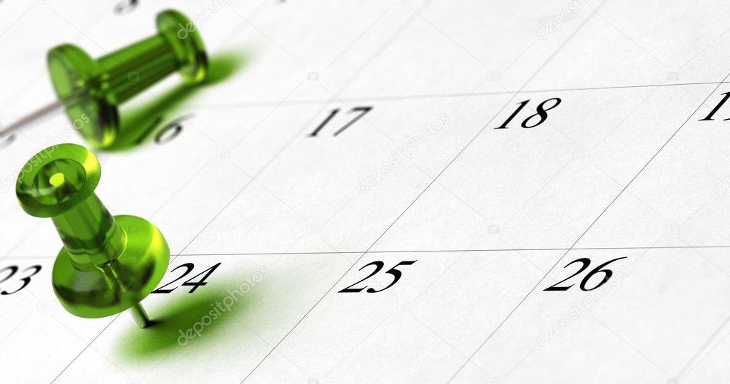 Planning, setting a date