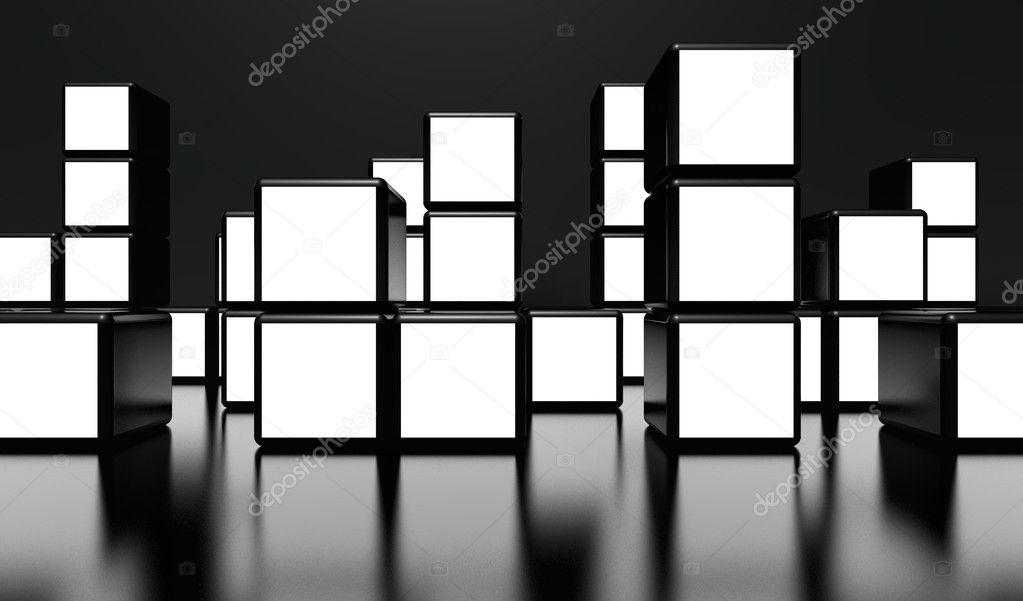 белый экран для видео