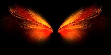 Hell butterfly wings