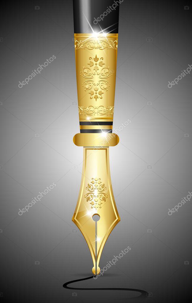 Luxury ink pen tip