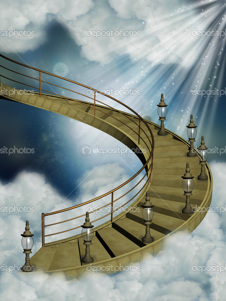Stairway in the sky