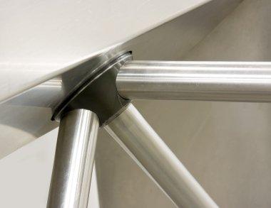 Nickel-plated turnstile rows