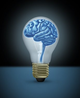 Intelligence and Creativity concept