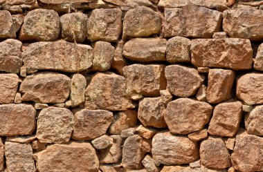 Old stone wall, seamless pattern