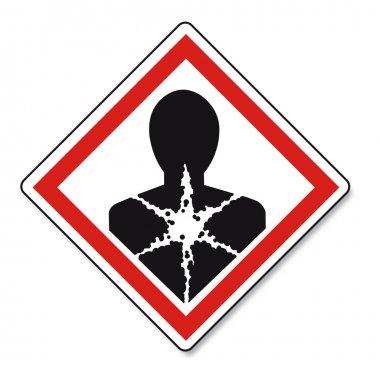 GHS warning danger sign Vektor