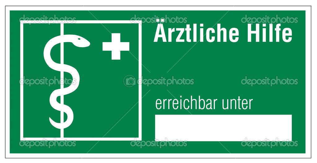 Rescue signs icon exit emergency first aid kit cross snake