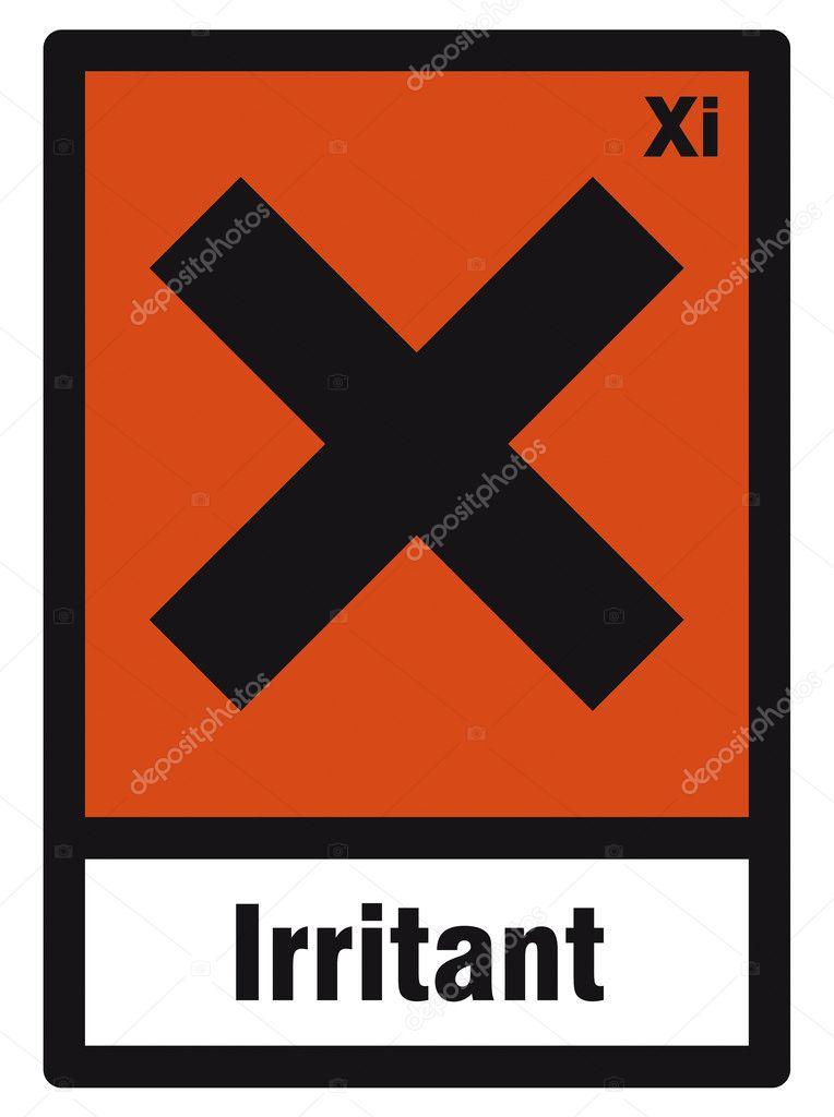 Safety Sign Danger Sign Hazardous Chemical Chemistry Irritant