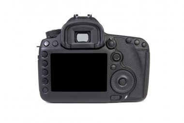 Digital dslr Camera body back view