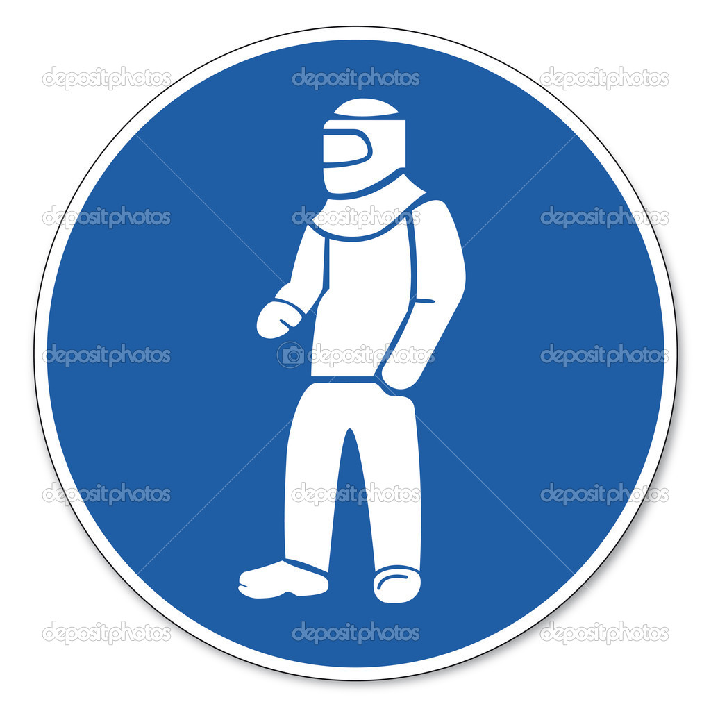 Commanding stock vectors royalty free commanding illustrations commanded sign safety sign pictogram occupational safety sign wear protective clothing stock vector biocorpaavc
