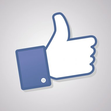 Face symbol hand i like fan fanpage social voting dislike network book icon community